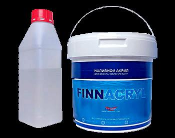 Finnakryl (ФінАкрил) - рідкий акрил для ванн