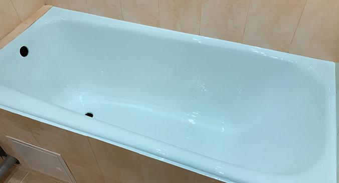 Реставрація чавунної ванни